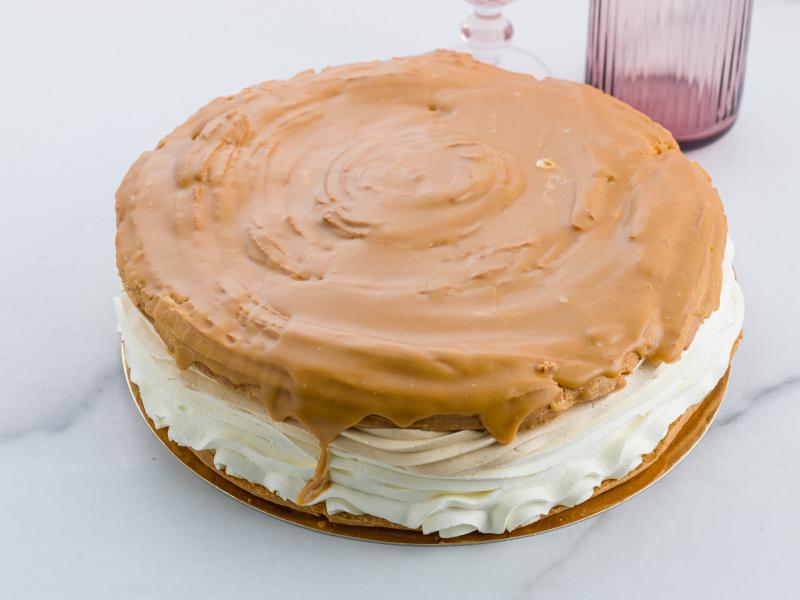 VETERNÍKOVÁ TORTA KARAMEL - MALÁ cca 8 porcií